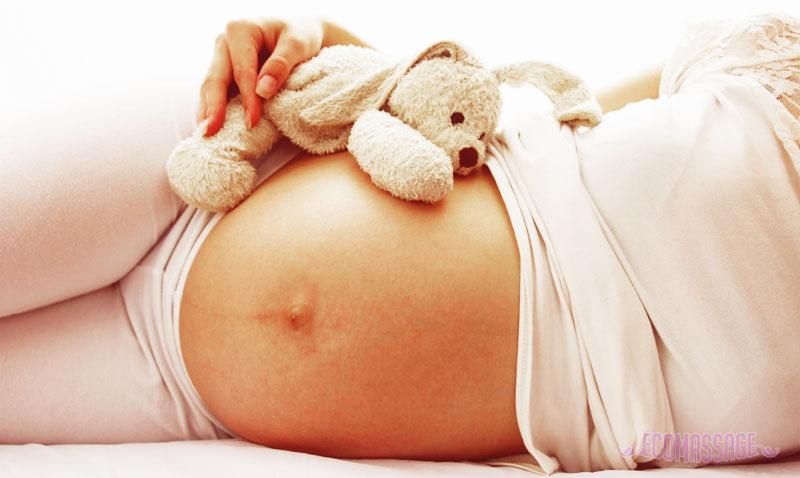 Массаж для беременных в домашних условиях 1-2