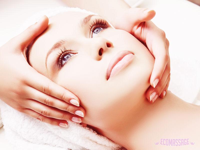 точечный массаж для кожи лица