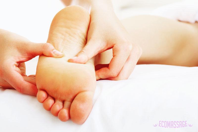 Массаж ног при беременности 2-3