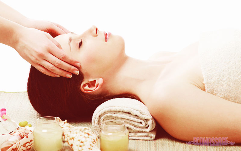 Расслабляющий массаж головы, шеи и плеч 20-2