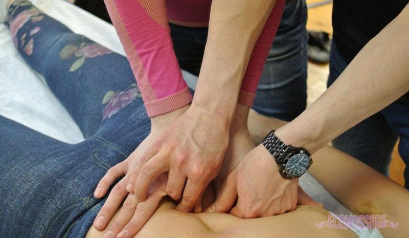 Огулов - висцеральный массаж: суть метода 2-4