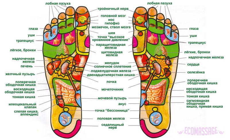 Как правильно делать массаж ступней ног для лечения и расслабления? 28-3