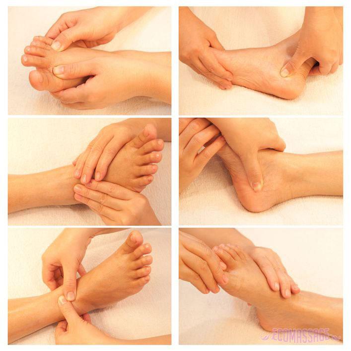 Как правильно делать массаж ступней ног для лечения и расслабления? 28-4